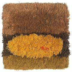 Jane Knight Sculptural Fiber Art Wall Hanging, 1960s
