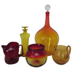 Blenko Mid-Century Glass Collection