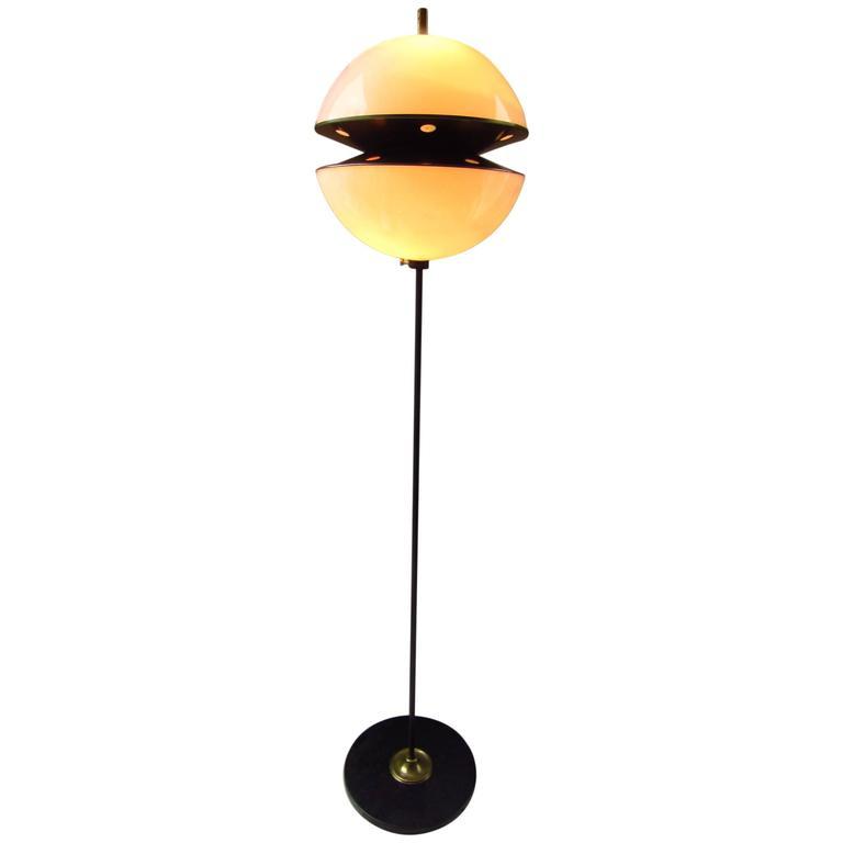 Midcentury Floor Lamp Italy 1960s Fabio Lenci for Guzzini