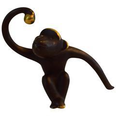 Brass Monkey by Walter Bosse, Marked