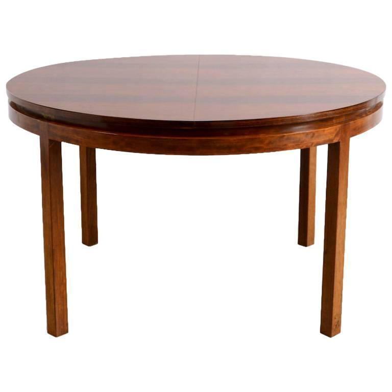 Round Extendable Dining Table by Alfred Hendrickx for  : 3915022l from www.1stdibs.com size 768 x 768 jpeg 22kB