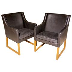 Pair of Borge Mogensen Chairs Model 3246