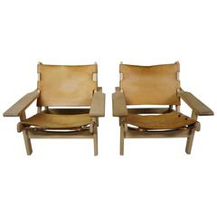 Pair of Kurt Ostervig Hunting Chairs