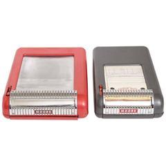 Pair Walter Dorwin Teague Receipt Printers for Moore Business Forms, circa 1946