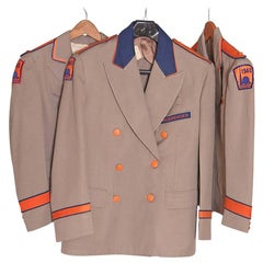 Trio Original 1940 New York Worlds Fair Stylin' Administrative Jackets