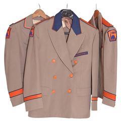 Trio Original 1940 New York Worlds Fair Stylin' Administrative Jackets