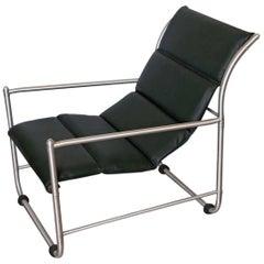 Elegant Streamline Warren McArthur Art Deco / Machine Age Lounge Chair