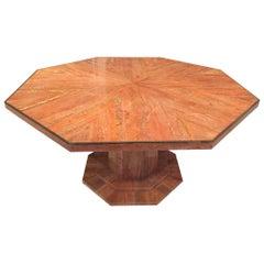 Italian Mid Century Modern Marble Table