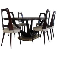 Stunning 1950s Suberb Design Italian Organic Dinner Set