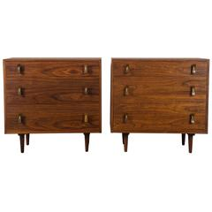 Pair of Vintage Mid-Century Dressers by Stanley Young for Glenn of California