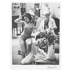Brassai the Artists of My Life, with Signed Photo of Matisse