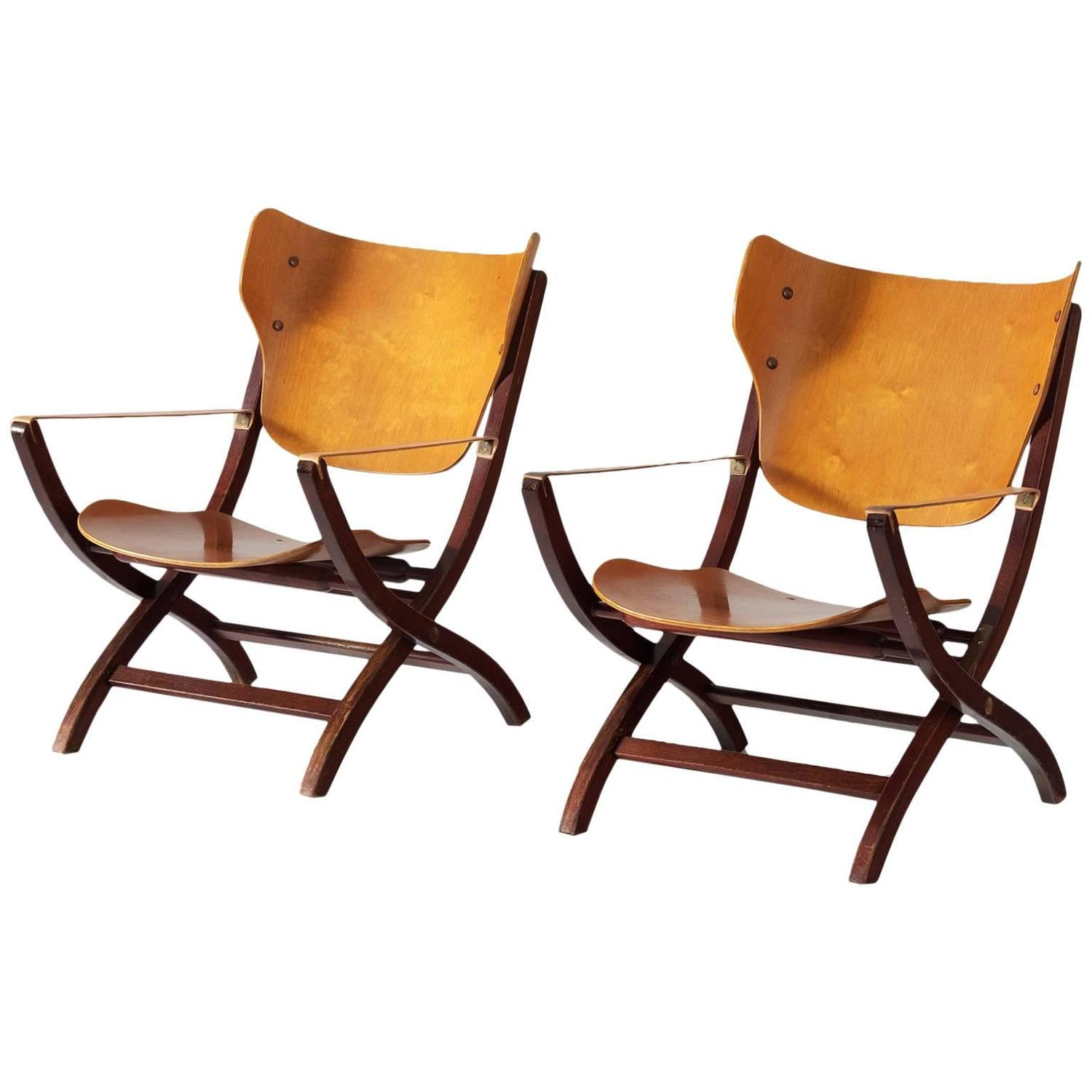 Poul Hundevad U0027Egyptianu0027 Chairs For Sale At 1stdibs