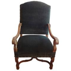 19th Century French Louis XIV Style Armchair