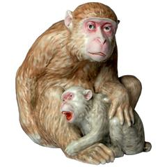Meissen Porcelain Monkey