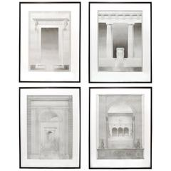 Set of Four Architectural Drawings