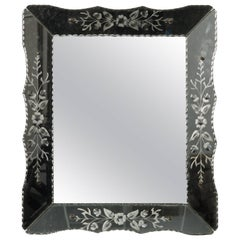 Art Deco Era Venetian Mirror