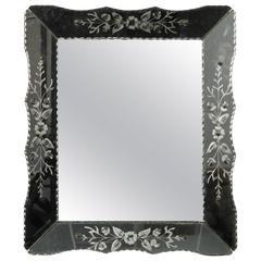 Art Deco Era Venetian Mirror