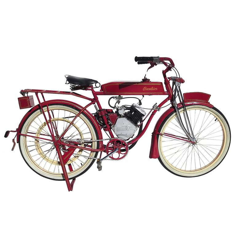 9e568dc0f1e 1940s Schwinn Whizzer Excelsior Motorized Bicycle at 1stdibs