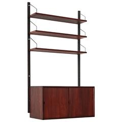 Rosewood Cado Wall Unit by Poul Cadovius, Denmark