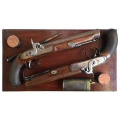 19th Century English Dueling Pistols by I. Lang