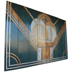 American Art Deco Screen