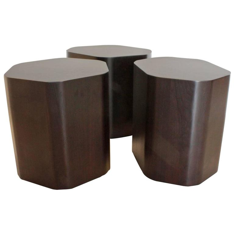 Emily Summers Studio Line Modern Duck Stools / Coffee Table For Sale
