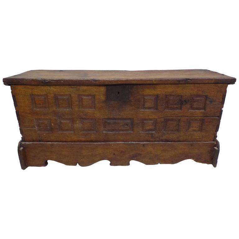 French Directoire Coffer or Chest, circa 1795 1