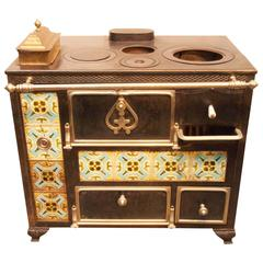 Early 19th Century French Cooking Stove
