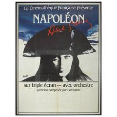 Able Gance's Napoleon Advertising Poster from Francis Ford Coppola's Revival