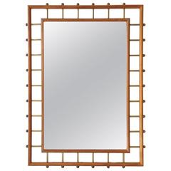 Stunning Mirror Attributed to Ico and Luisa Parisi