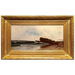 """Coast of Narragansett"" by A. T. Bricher"