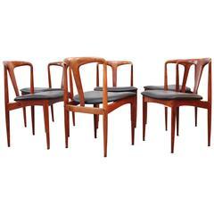 Johannes Andersen 'Juliane' Rosewood Mid-Century Modern Dining Chairs