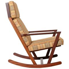 Danish Modern Rocker, Designed by Poul Volther, 1960s