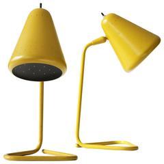 Kurt Versen Pair of Table Lamps