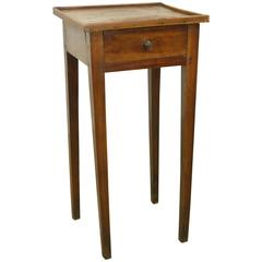 Antique French Cherry Side Table, Charming Small Gallery