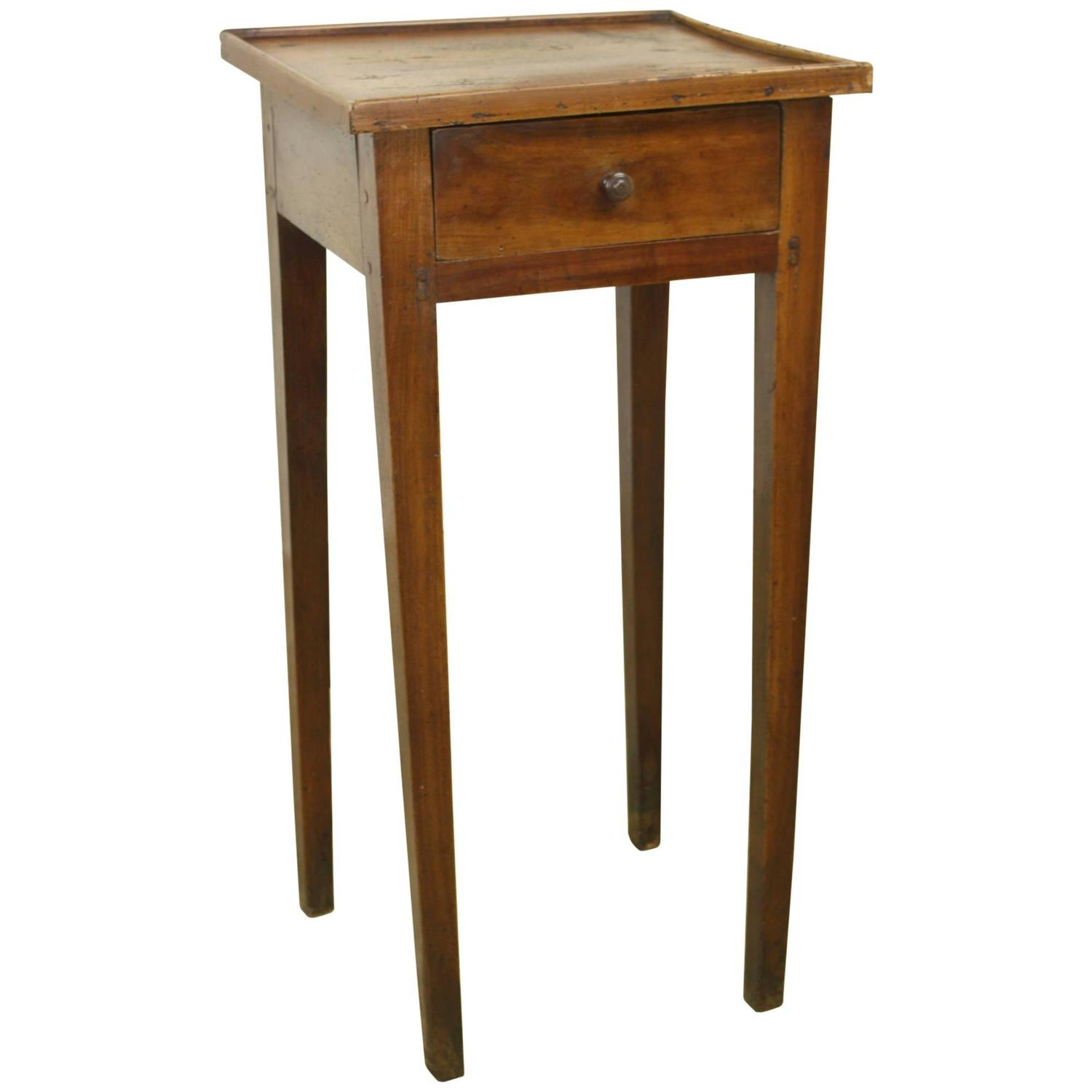 Cherry Side Table ~ Antique french cherry side table charming small gallery