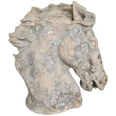 20th Century Bust of a Horse