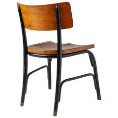 Fritz Schlegel Oak and Beech 'Husum' Chair, Denmark, circa 1930