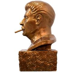 Smokin' Joe Stalin Sculpture by Frank Kozik