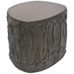 Rare Paul Evans Tree Trunk Table