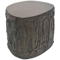 Rare Paul Evans Tree Trunk Table