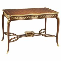 Louis XVI Style Marquetry Centre Table