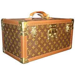 1980s Louis Vuitton Traincase