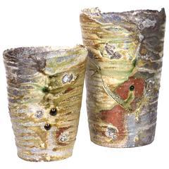 Shiro Otani Wood Fired Japanese Shigaraki Vessels