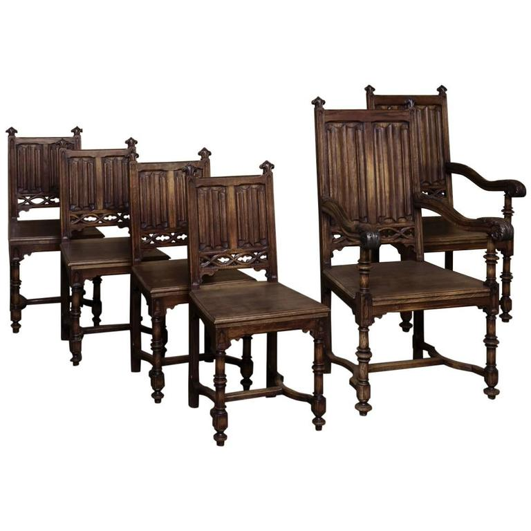 Jacobean Revival Dining Room Set