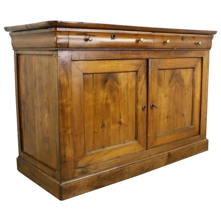 Antique louis philippe cherry buffet at stdibs