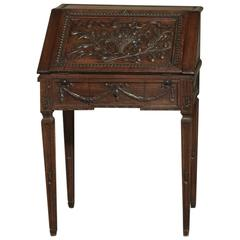 19th Century Country French Neoclassical Secretary