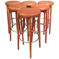 Danish Modern Bar Stools
