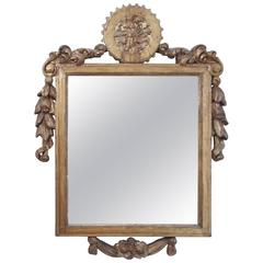 Italian 19th Century Gilded Mirror