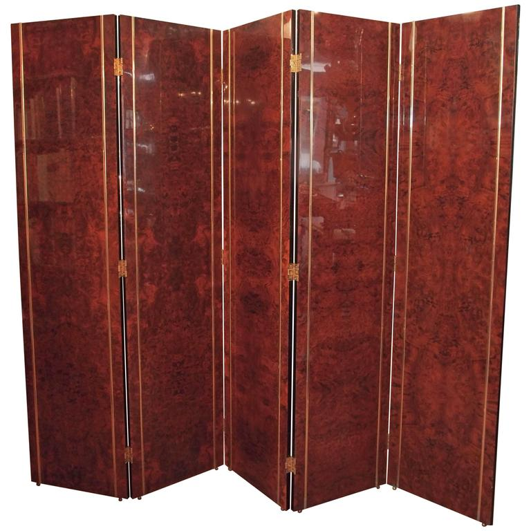 High Style Spanish Art Deco Wooden Screen 1
